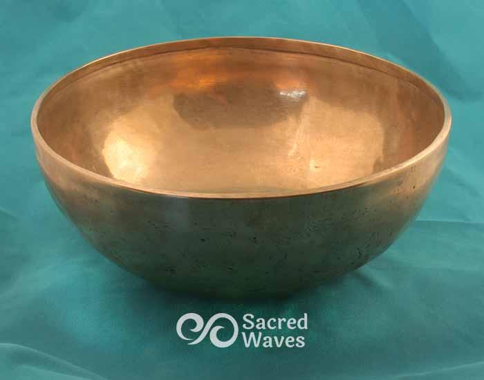 """9 1/4"""" Tibetan Jambati Singing Bowl"""