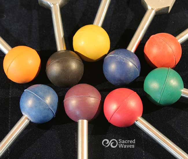9 Colored Chakra Balls