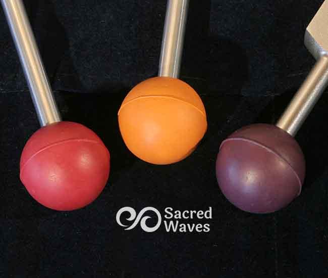 3 Colored Chakra Balls