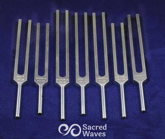 7 Chakra Tuning Fork Set STD