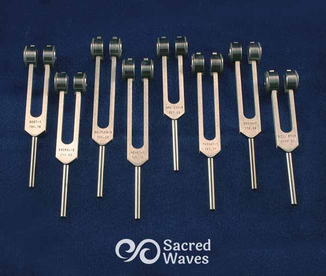 8 Chakra Tuning Fork Set WTD