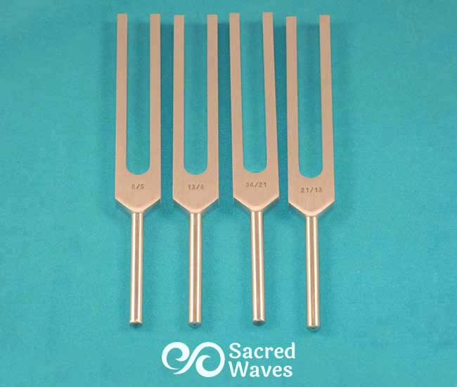 Tuning Fork Set: Fibonacci Add-on, upgrade set, STD unweighted