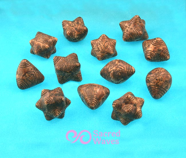 Chumpi Stones - Set of 12