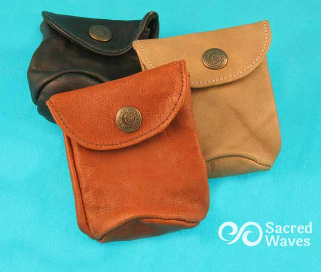 Leather Pouch - Large