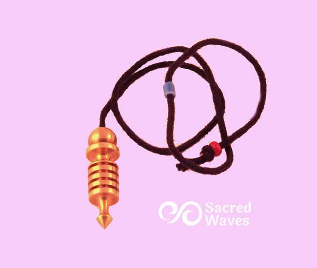 Isis - Small Brass Pendulum