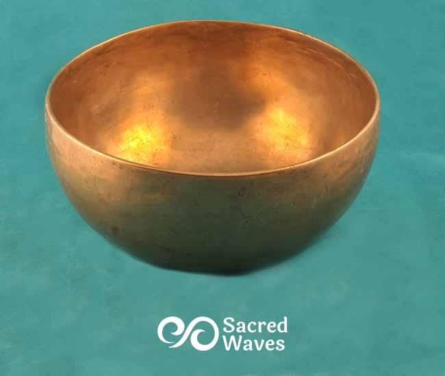7 3/4' Tibetan Lotus Singing Bowl