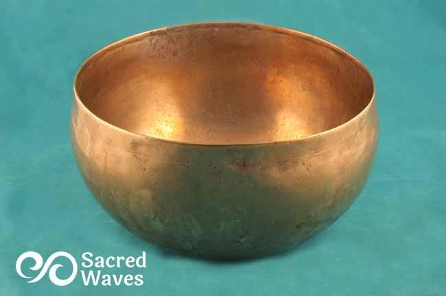 """6 3/4"""" Tibetan Lotus Bowl"""