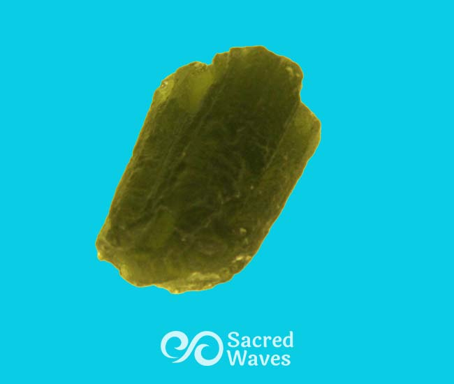 Moldavite Tektite   Earth Treasures   Moldavite   Sacred Waves - Vibrational Healing Tools for Transformation