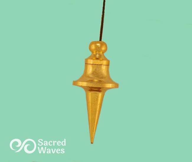 Long Cone WC Brass Pendulum