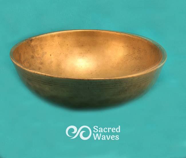 """8 1/2"""" Manipuri Tibetan Bowl"""