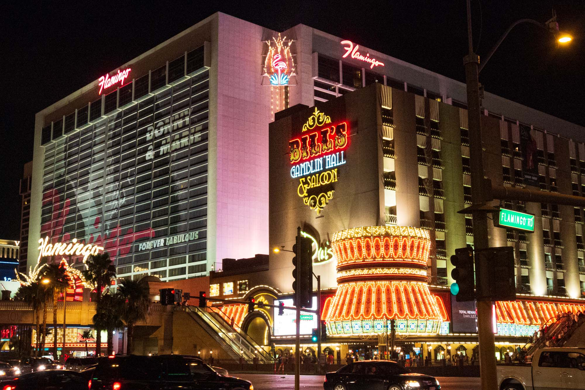 a hotel and casino on the Las Vegas strip