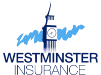 Icon indicating insurance with west minster