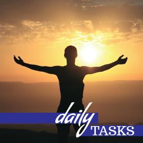 Chaka healing - daily tasks