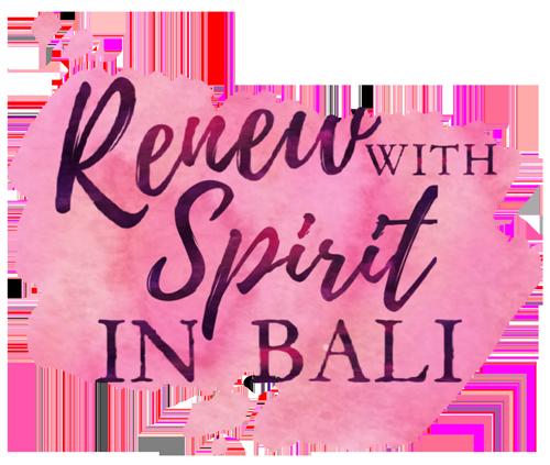 Renew with Spirit in Bali - logo