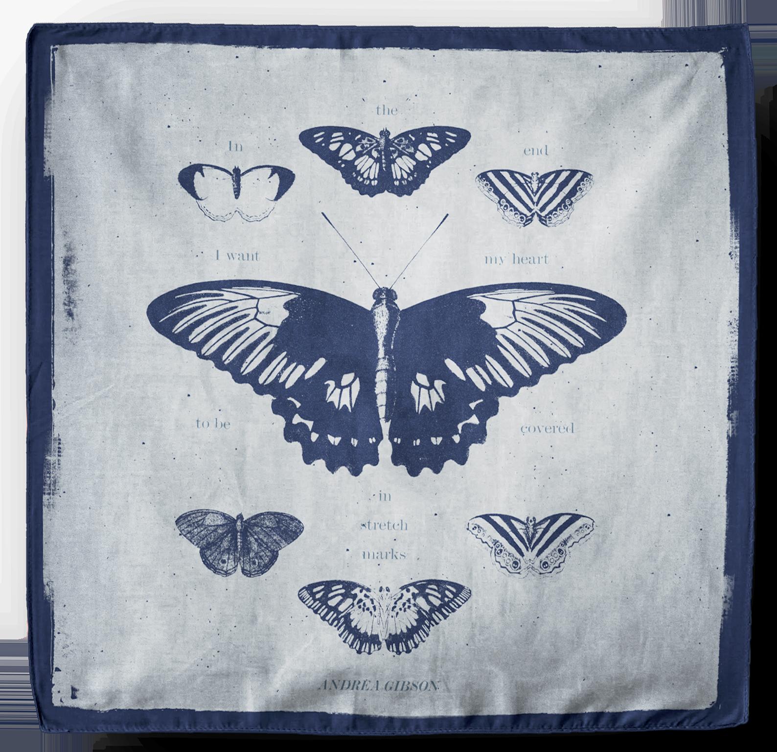 Andrea Gibson Butterfly Bandana