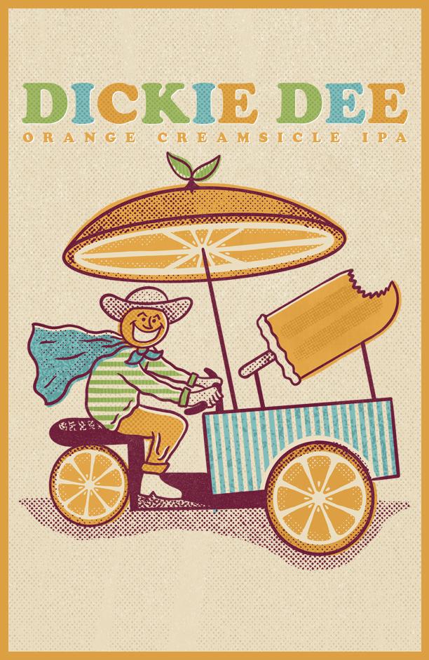 Dickie Dee Orange Creamsicle