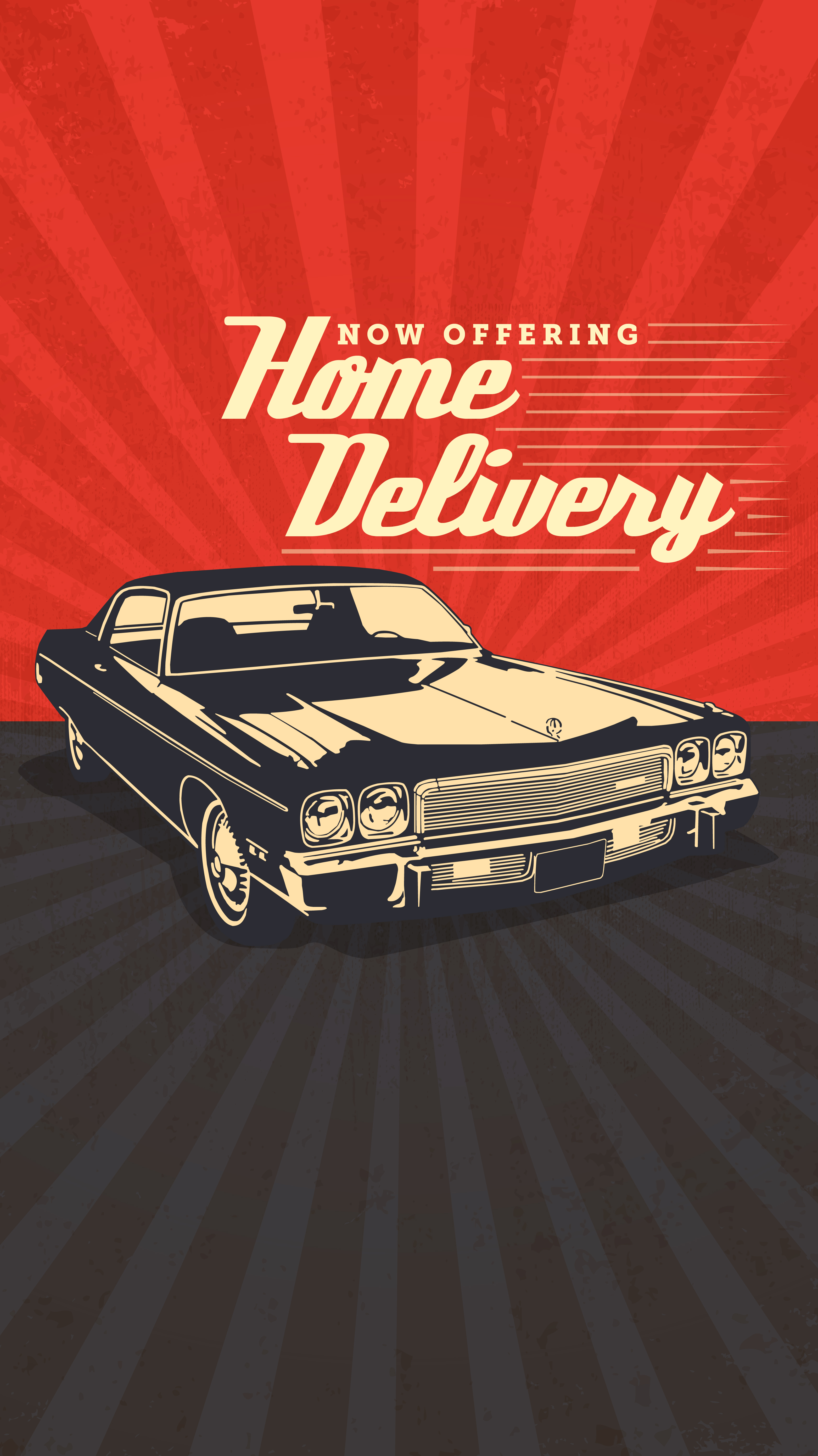 HOME DELIVERY now available!