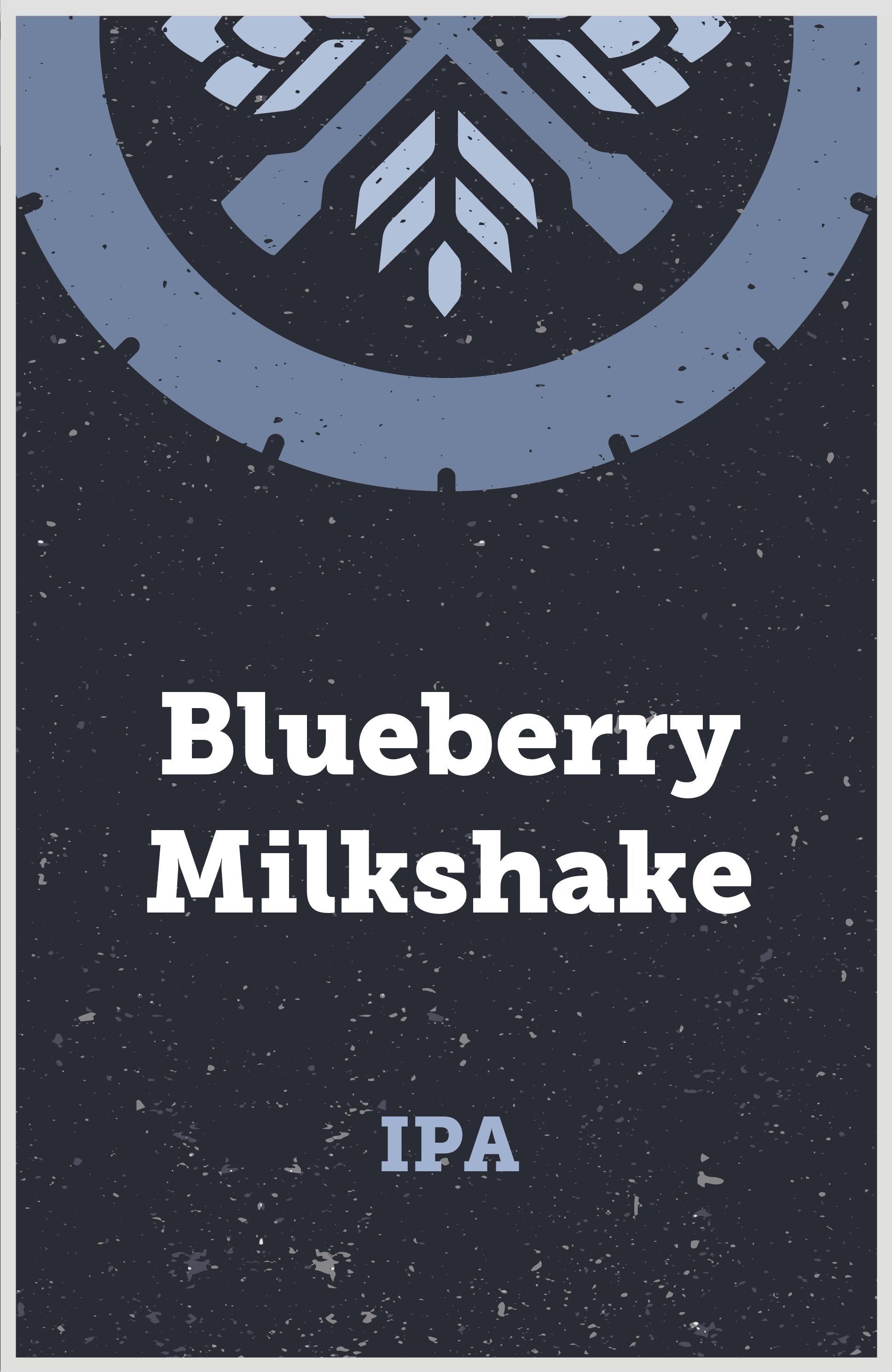 Blueberry Vanilla Milkshake IPA