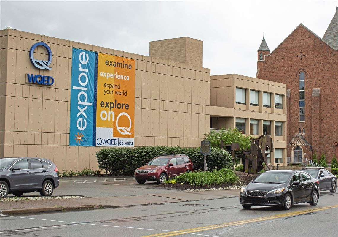 Exterior of Pittsburgh's WQED building, a great place to work as an intern