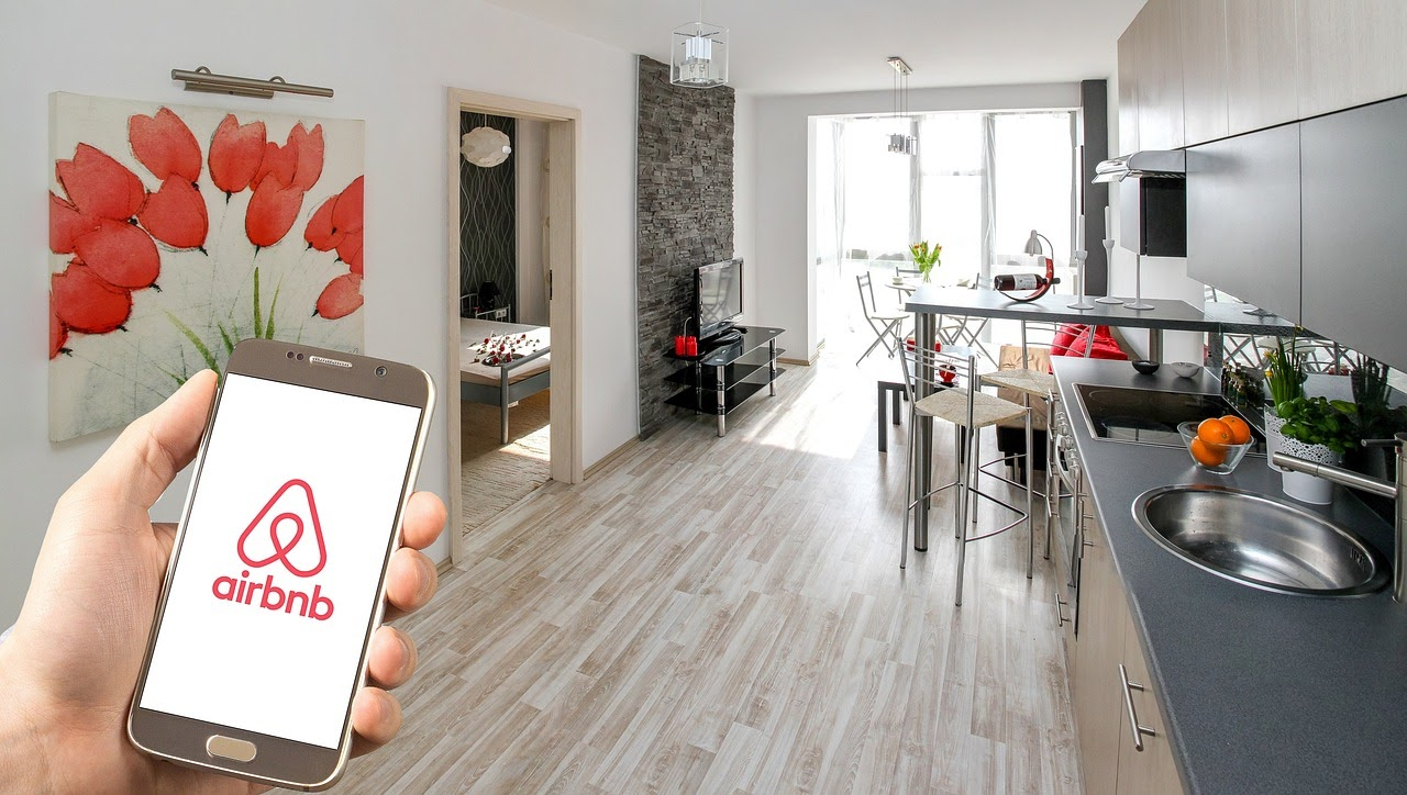 inside an Airbnb, a successful company that makes use of the sharing economy