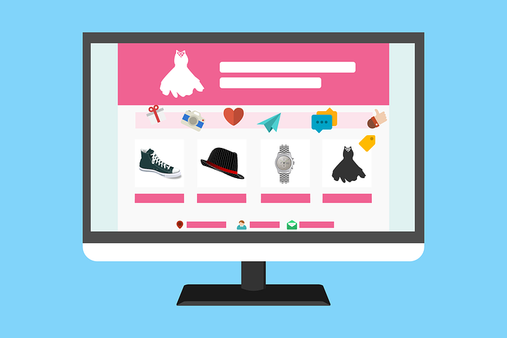 an ecommerce website that sells clothes and accessories