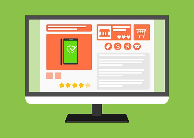 an ecommerce website