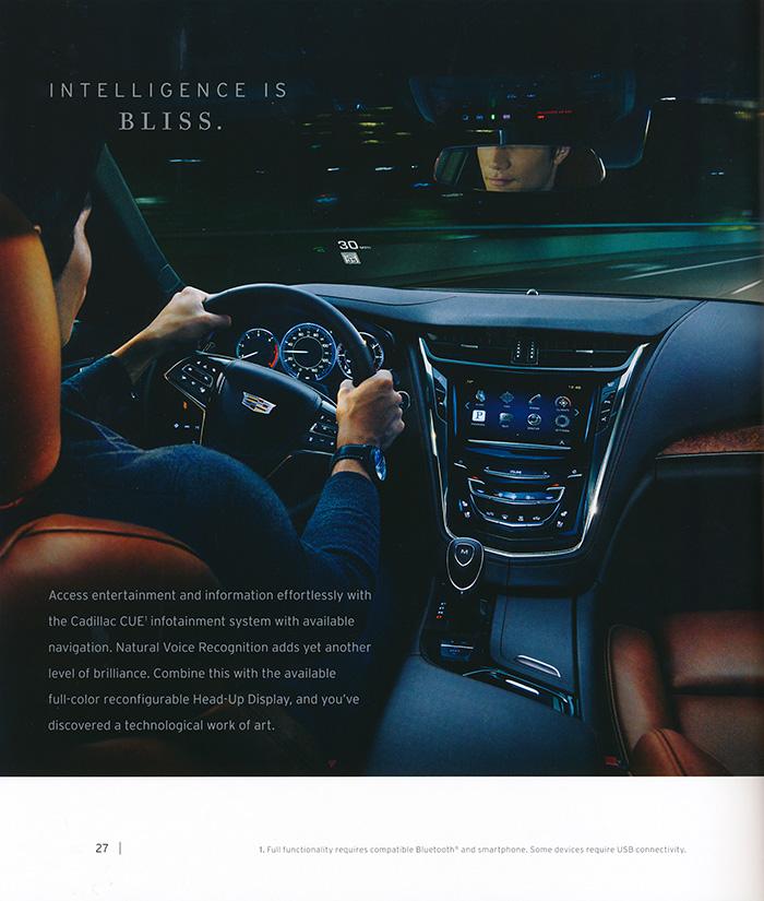 Cadillac CTS 2015 Catalog