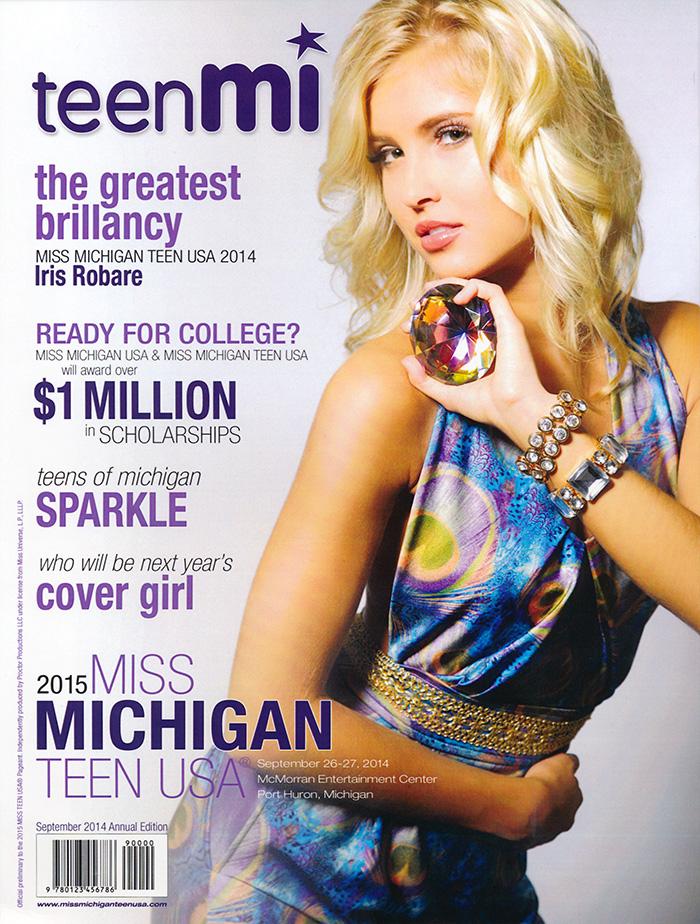 Miss Michigan Teen USA 2015 Program