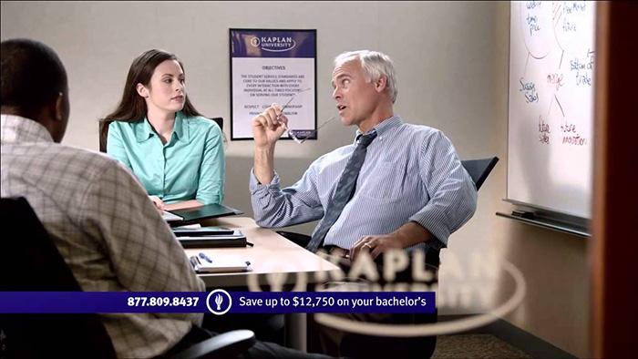 Kaplan University Commercial