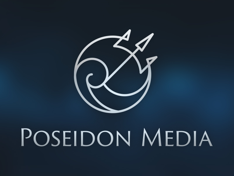 Poseidon Media Logo by Brent Galloway