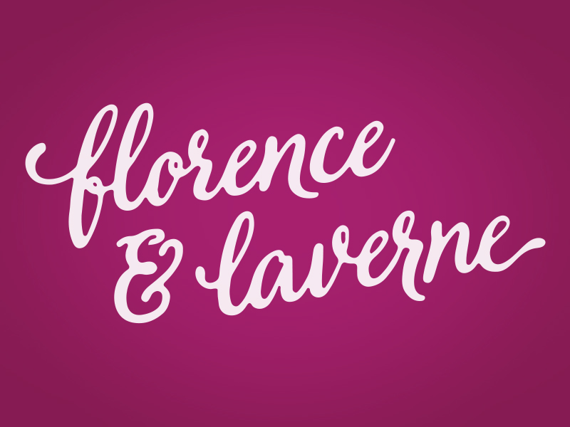 Florence & Laverne Logo by Brent Galloway