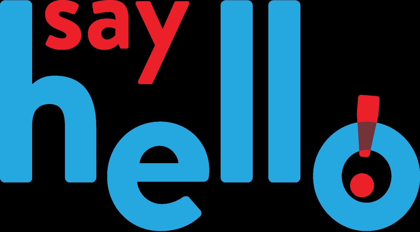 Say Hello Sweets logo — by Dima Yagnyuk.