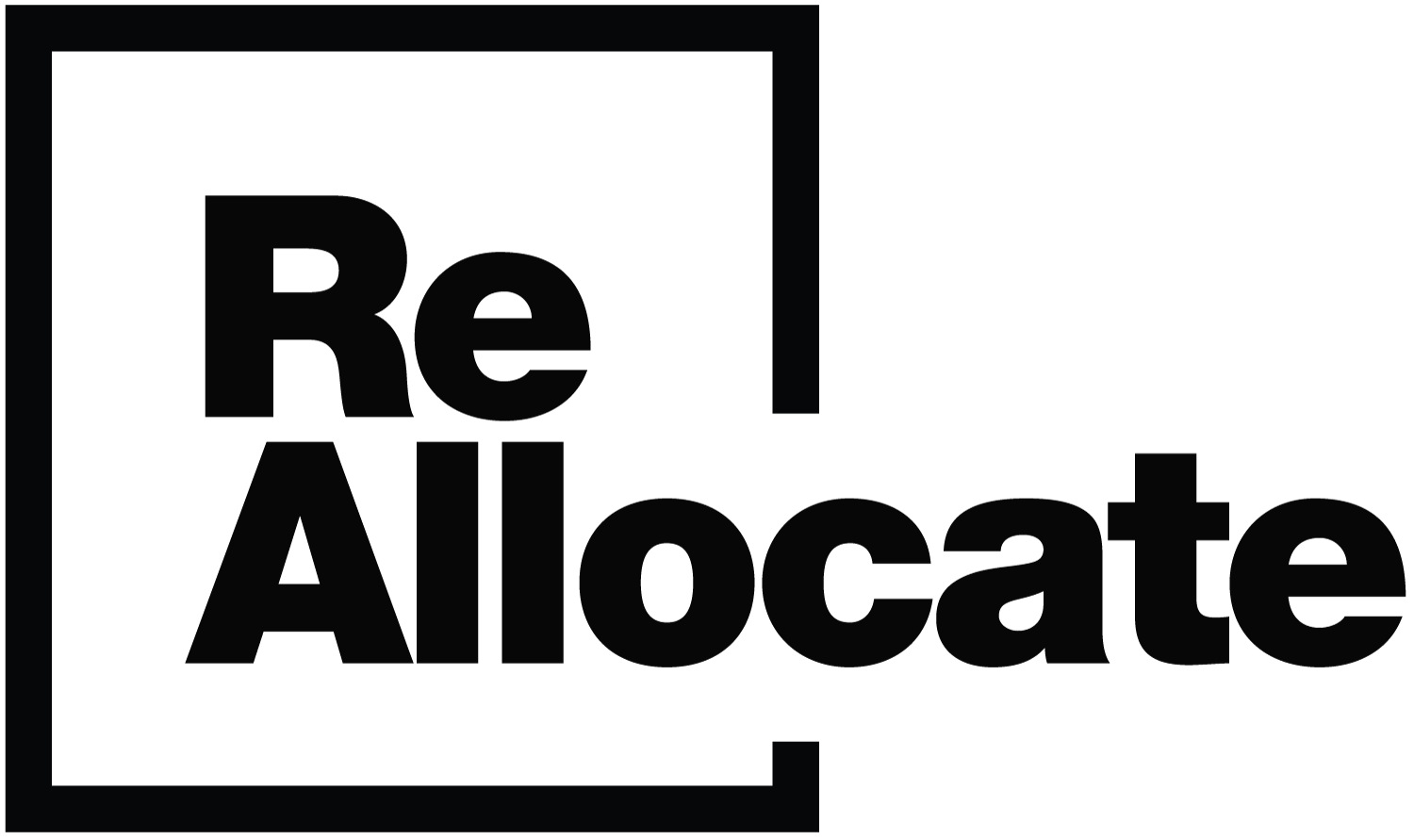 ReAllocate Financial Advising Logo  — by Yagnyuk.