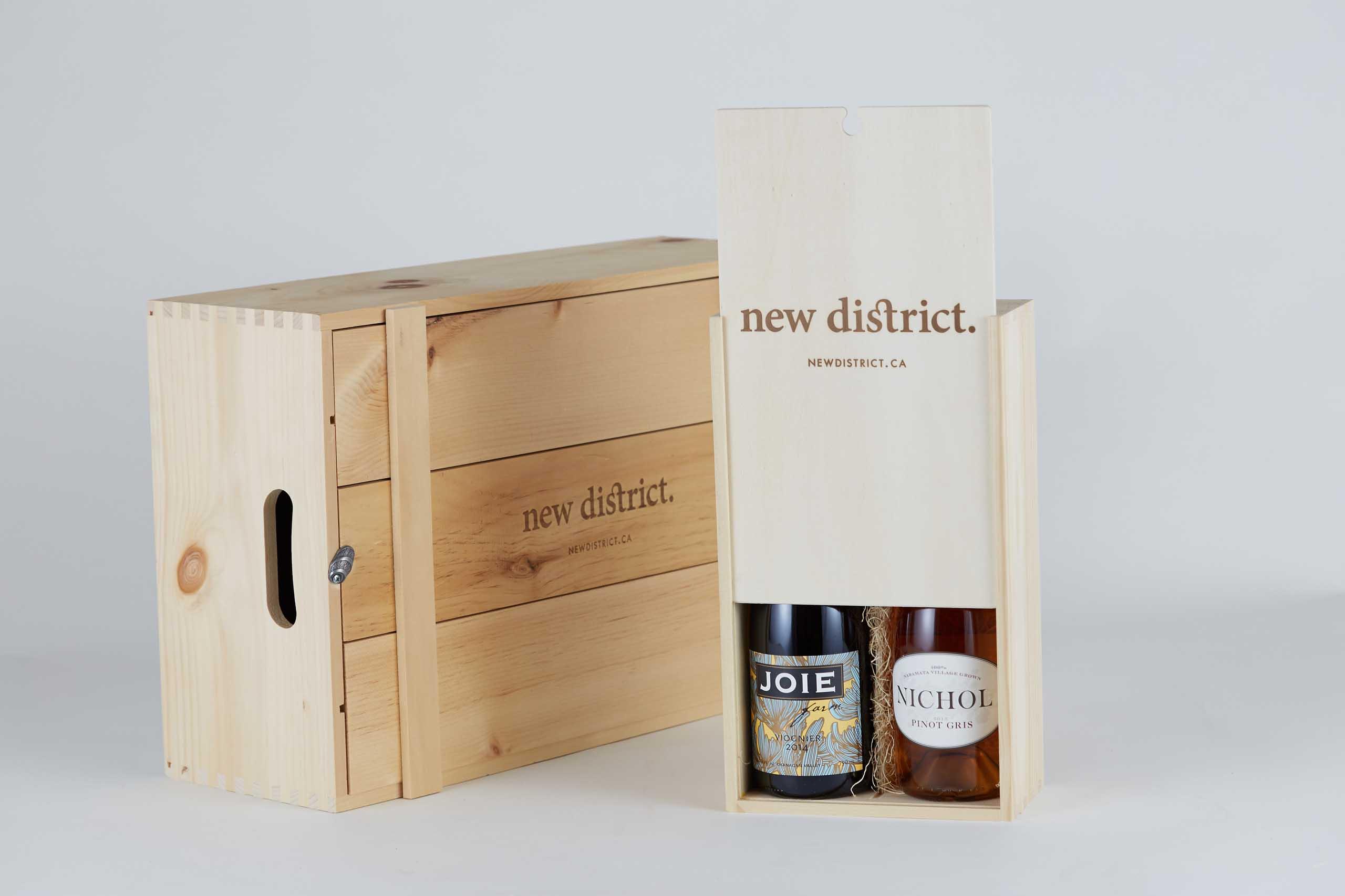 Twelve bottle box and two bottle box together — Yagnyuk.