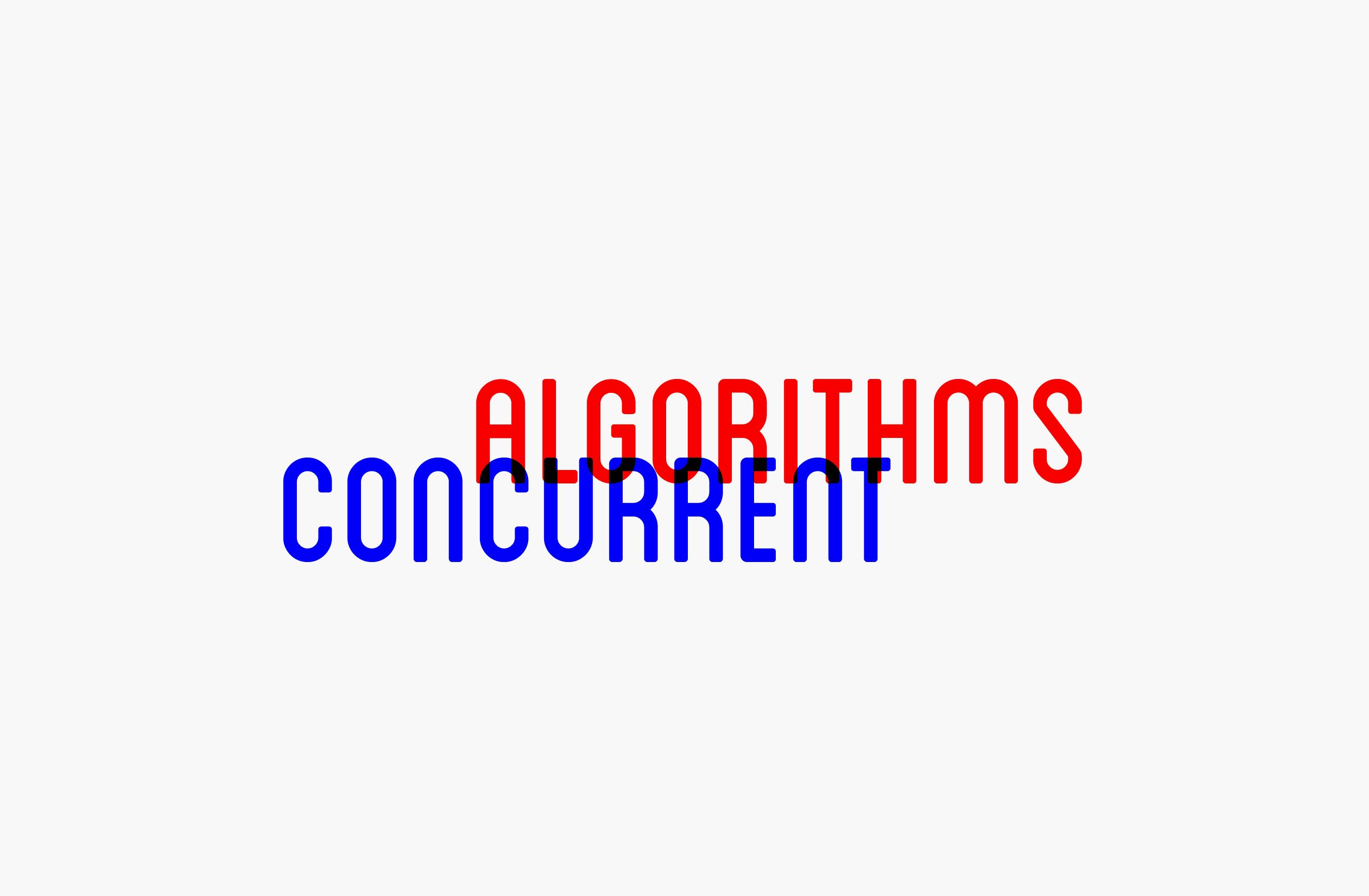Concurrent Algorithms Logo — by Yagnyuk.