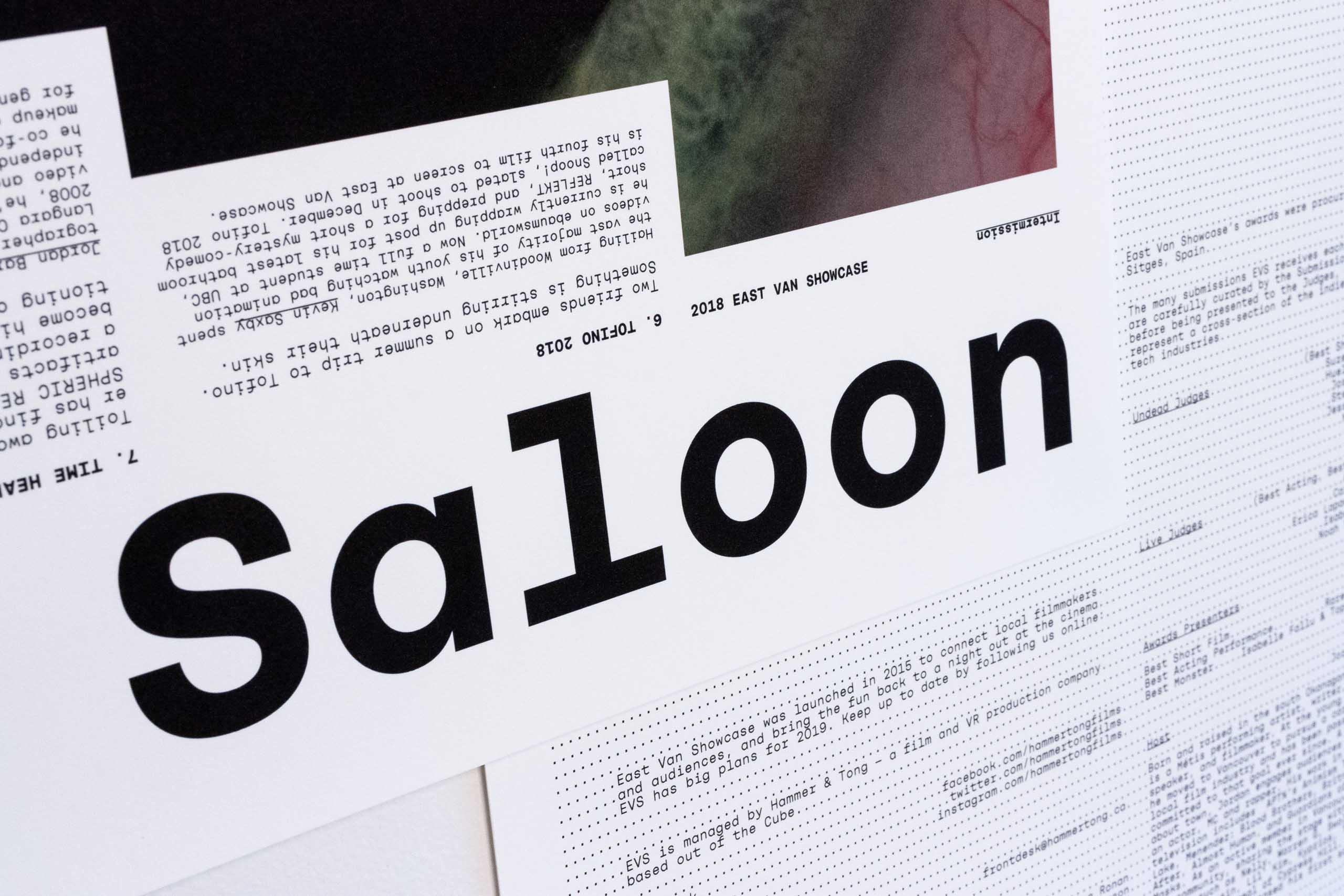 Close up of Poster Headlne set in Rational Display typeface — by Yagnyuk.