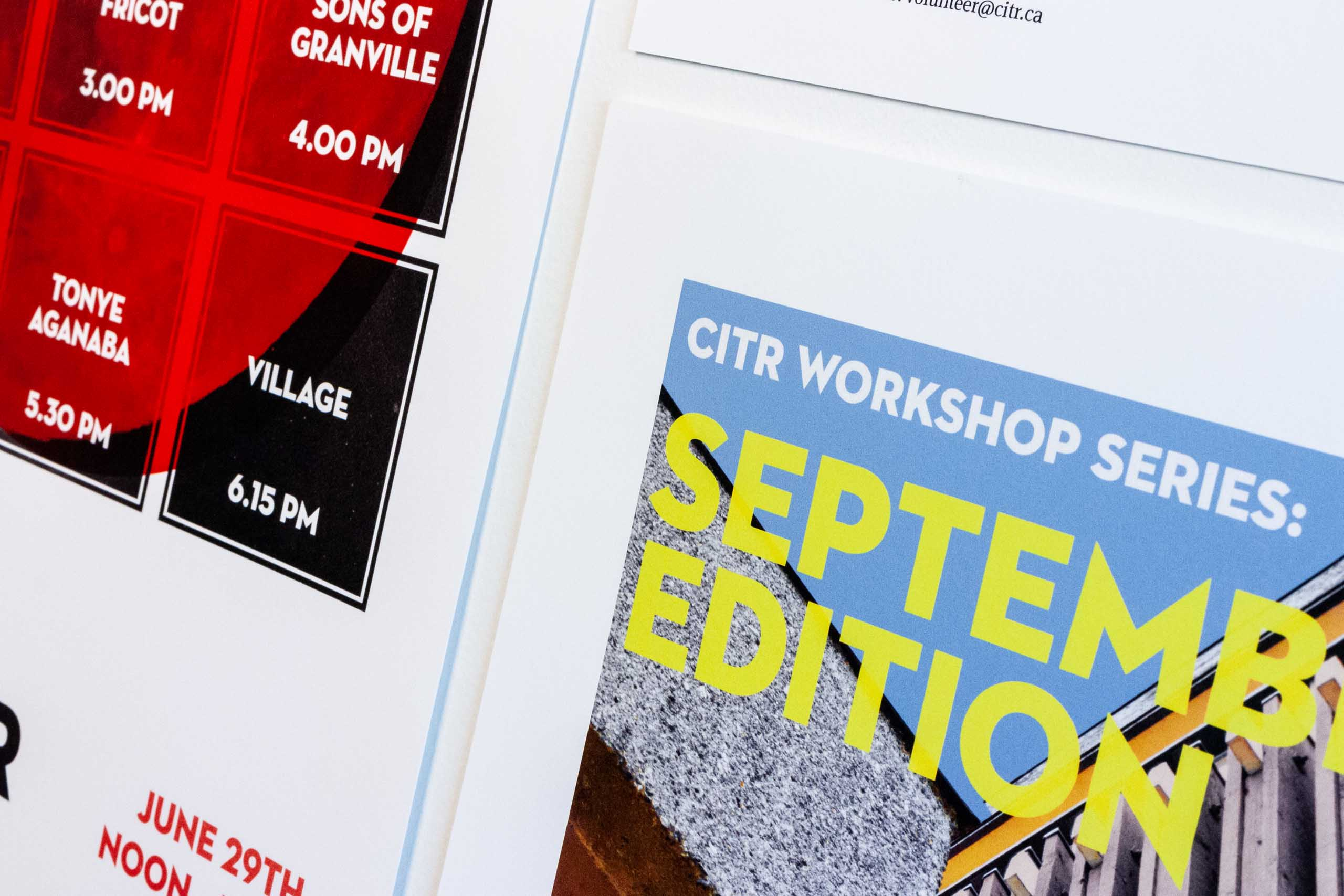 Close up of CiTR workshop series September Edition — by Dima Yagnyuk.