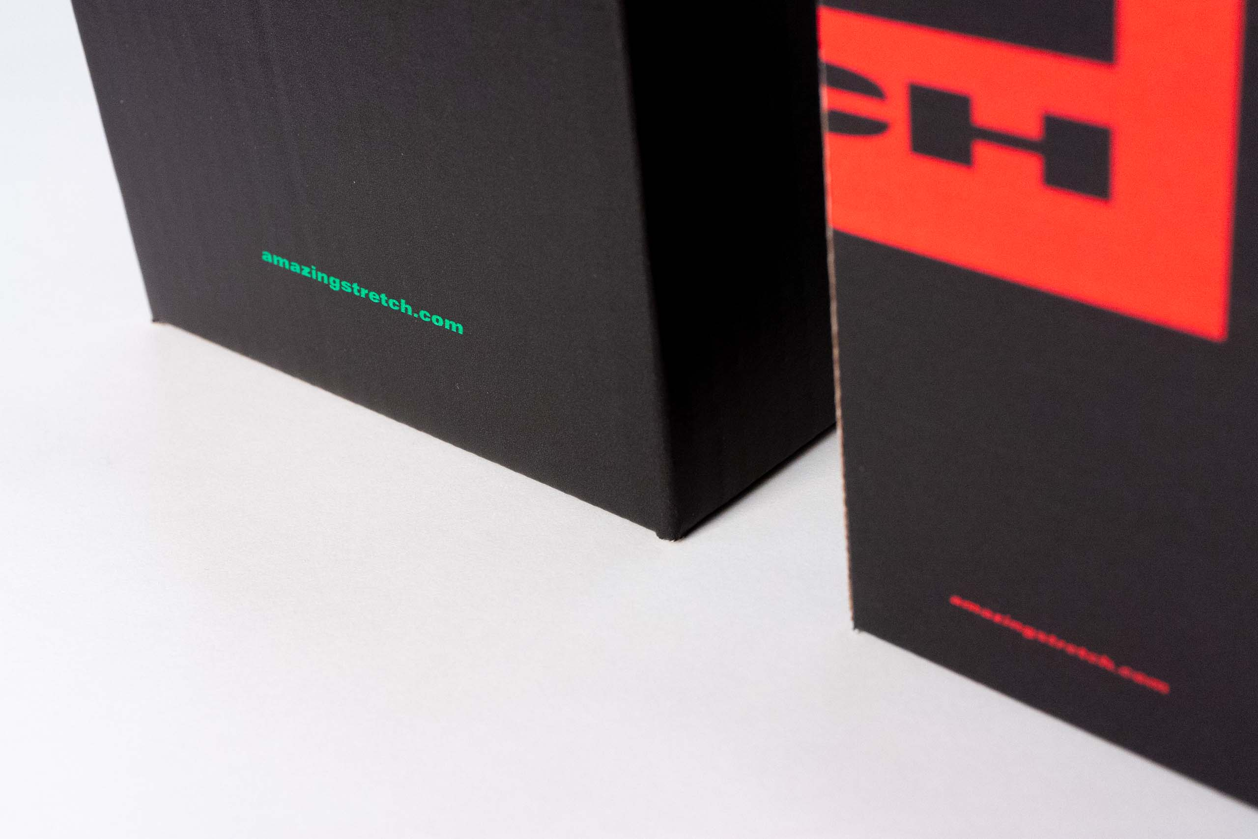 Details of the back of the boxes with company website — by Yagnyuk.