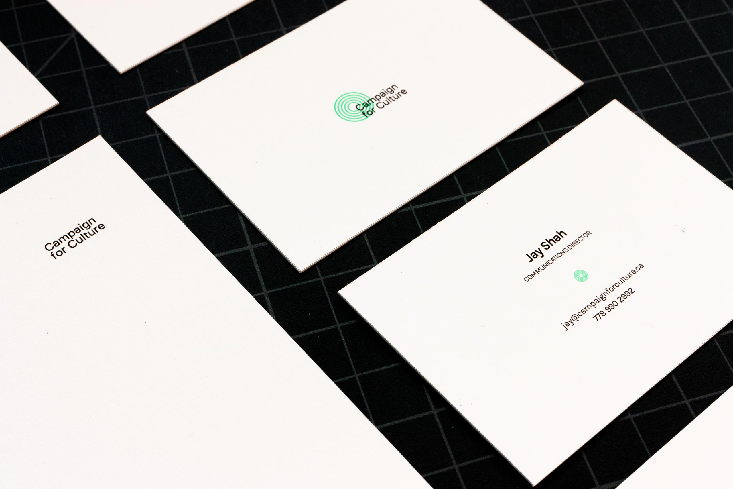 Campaign for Culture business cards — by Yagnyuk.