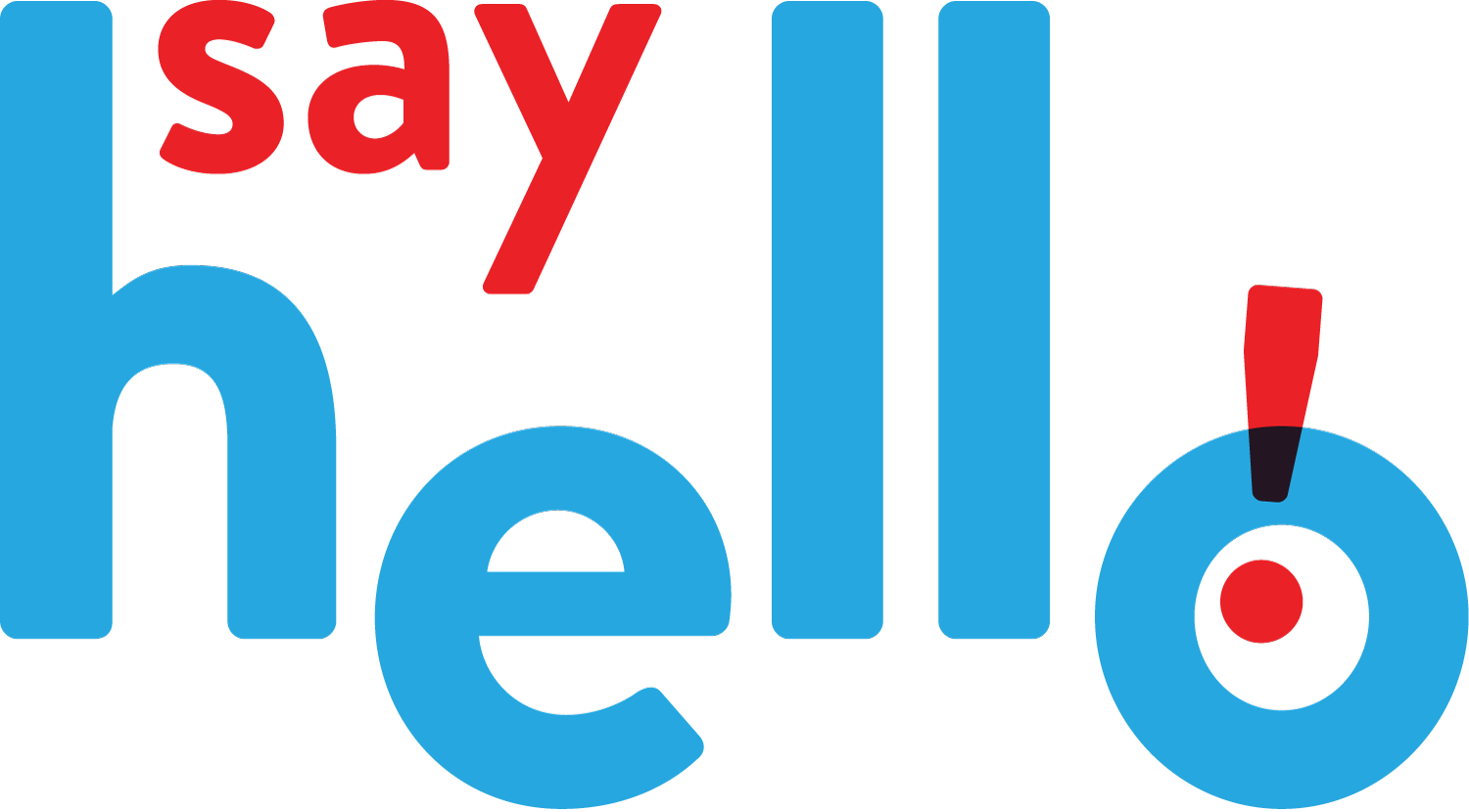 Say Hello Sweets Logo — by Yagnyuk.