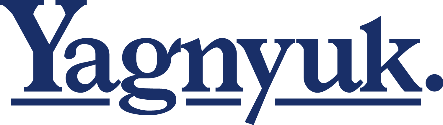 Yagnyuk wordmark.