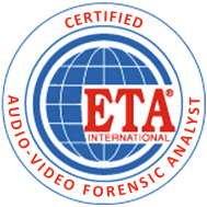 Certified Audio Video Forensic Analyst Official Logo