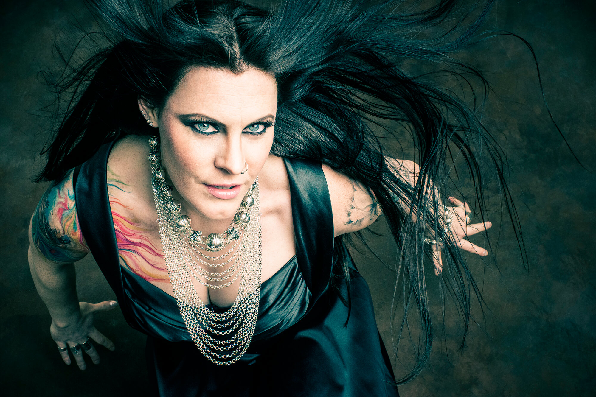 Floor Jansen Jewelry Press Photo