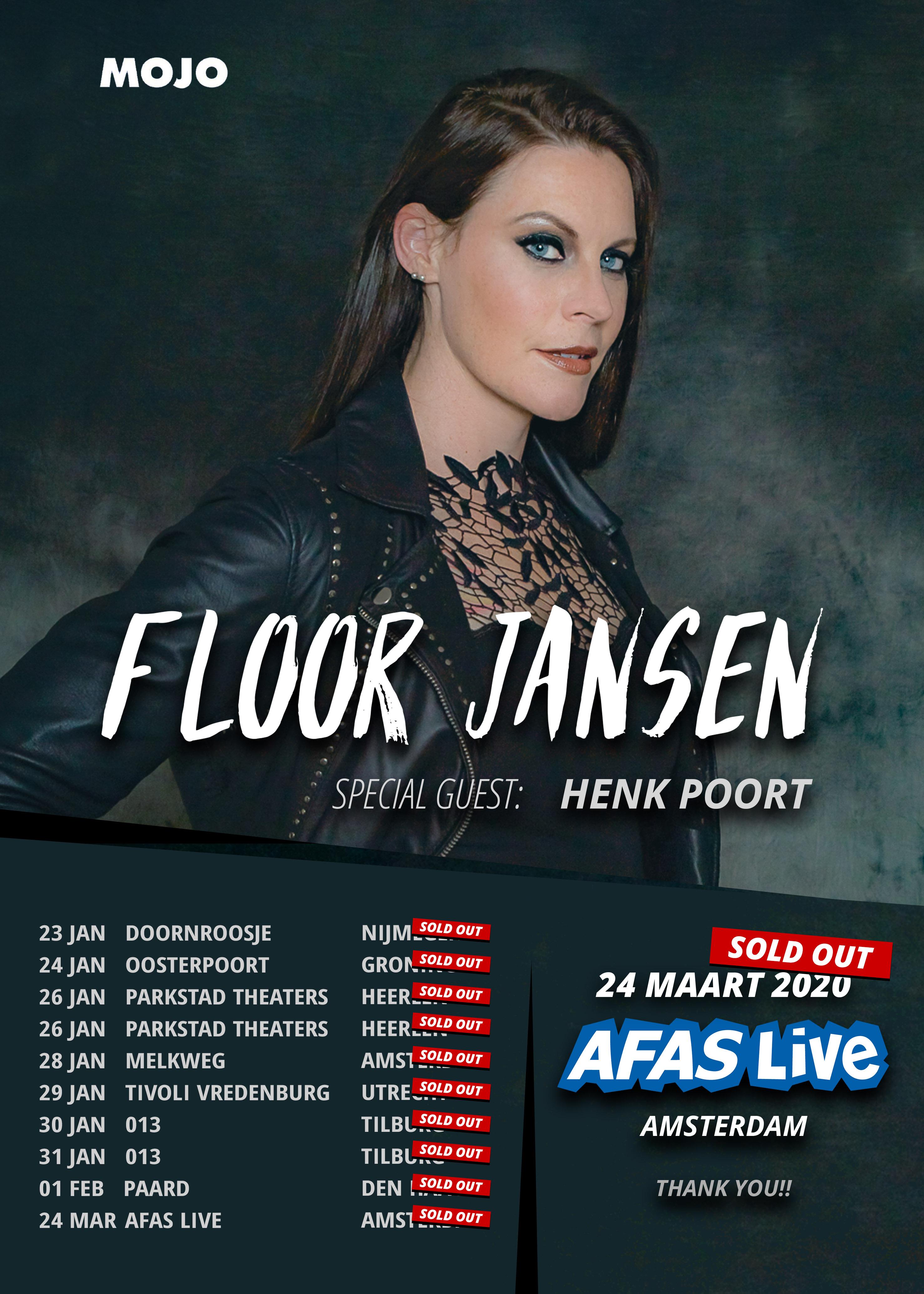 Floor Jansen Tour Nederland