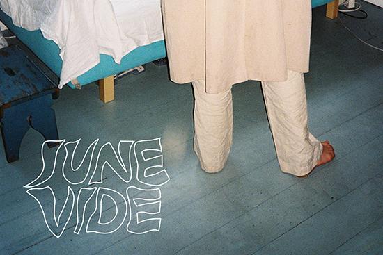 PREMIÄR: Drömsk pop med bandet June Vide