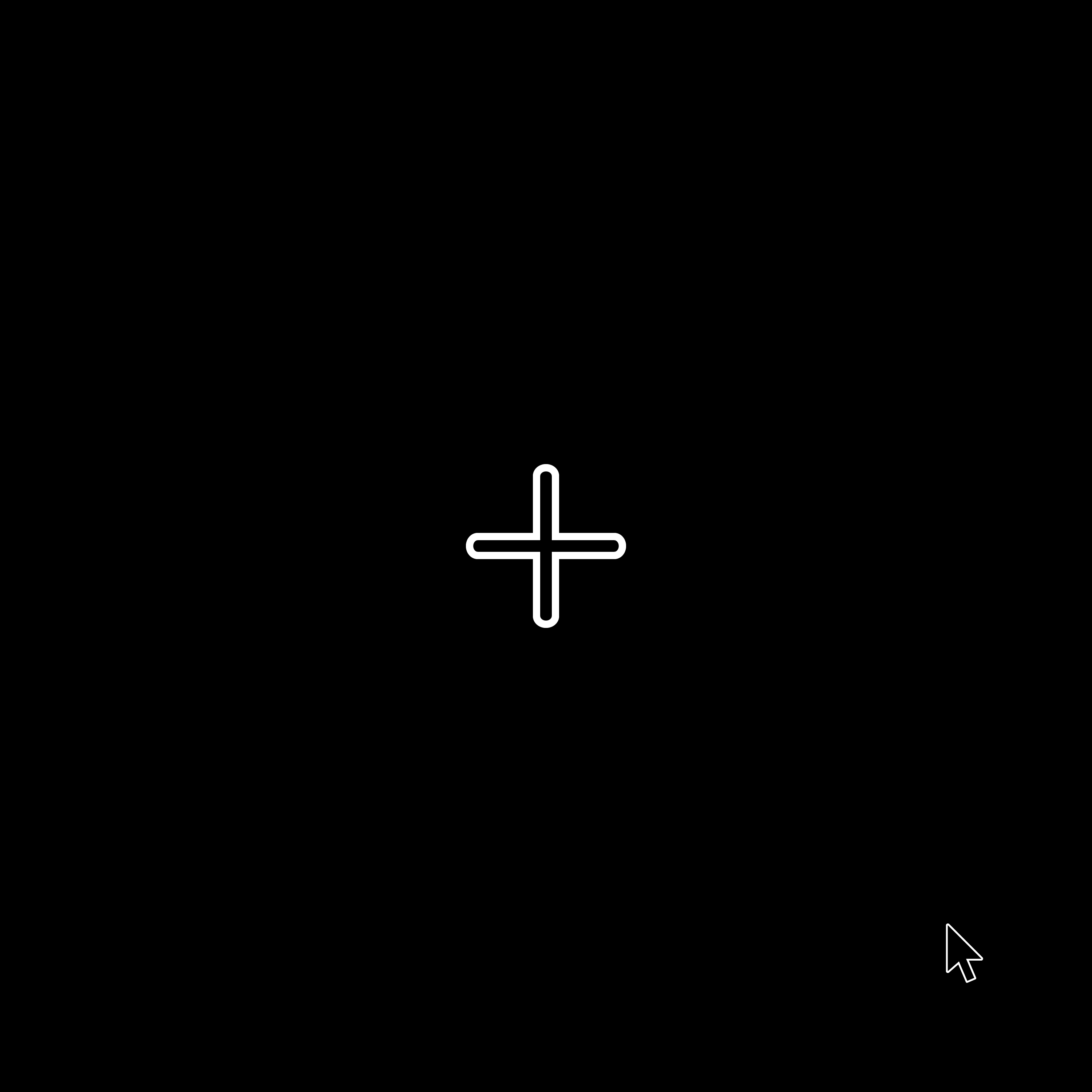 Illustration of precise cross and pointer