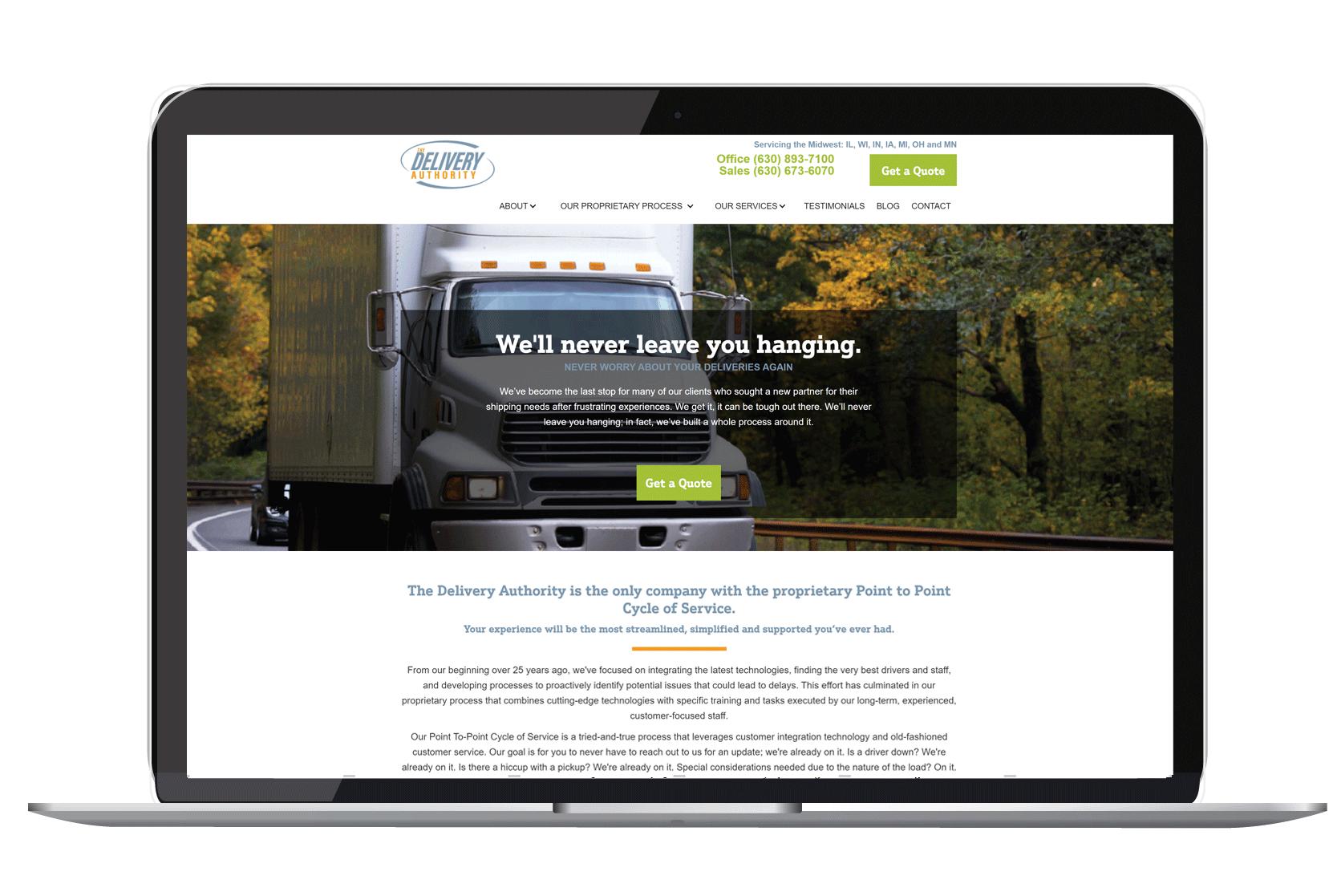 Get a new website made