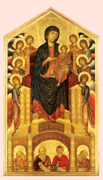 Cimabue, Santa Trinita Maestà