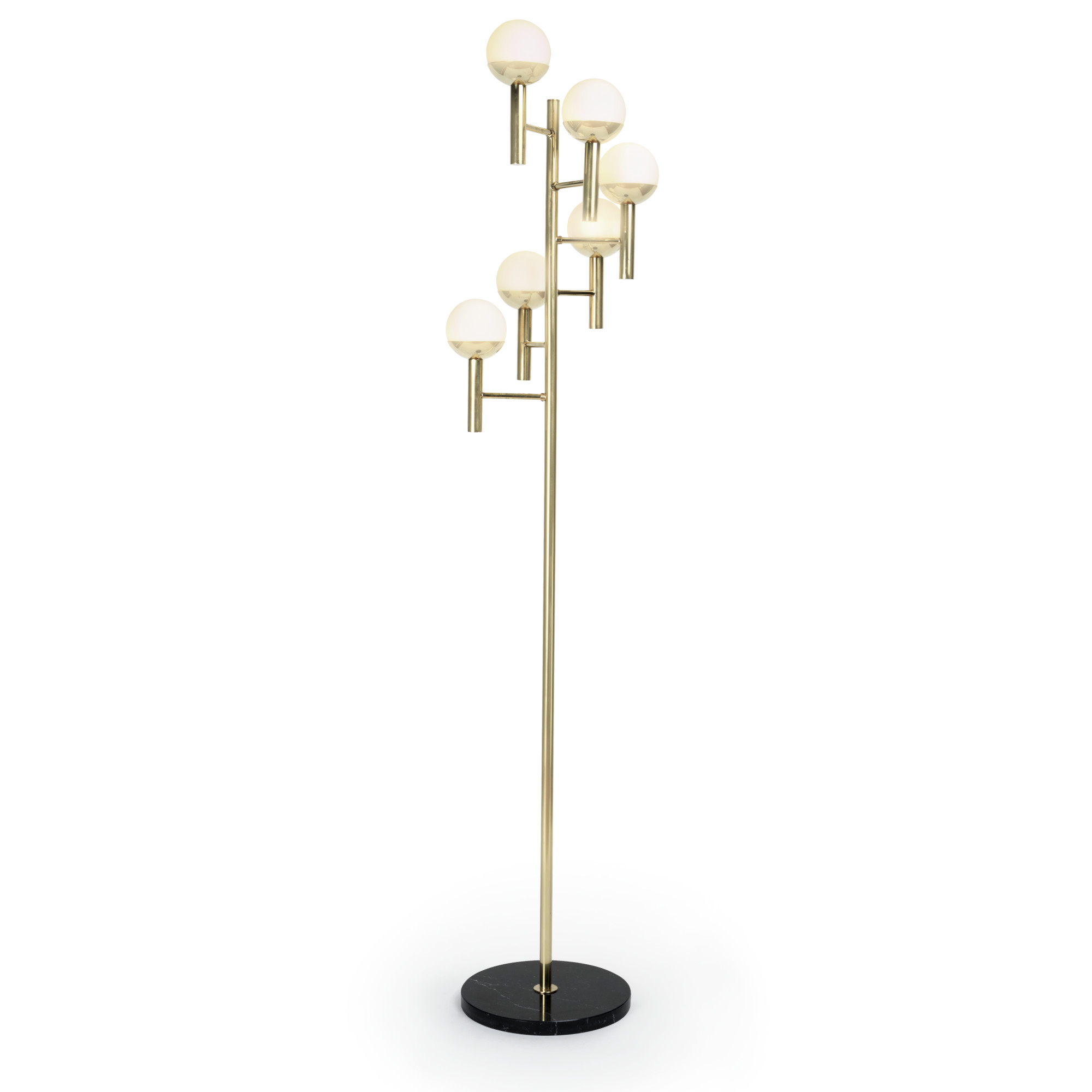 Cascade floor lamp