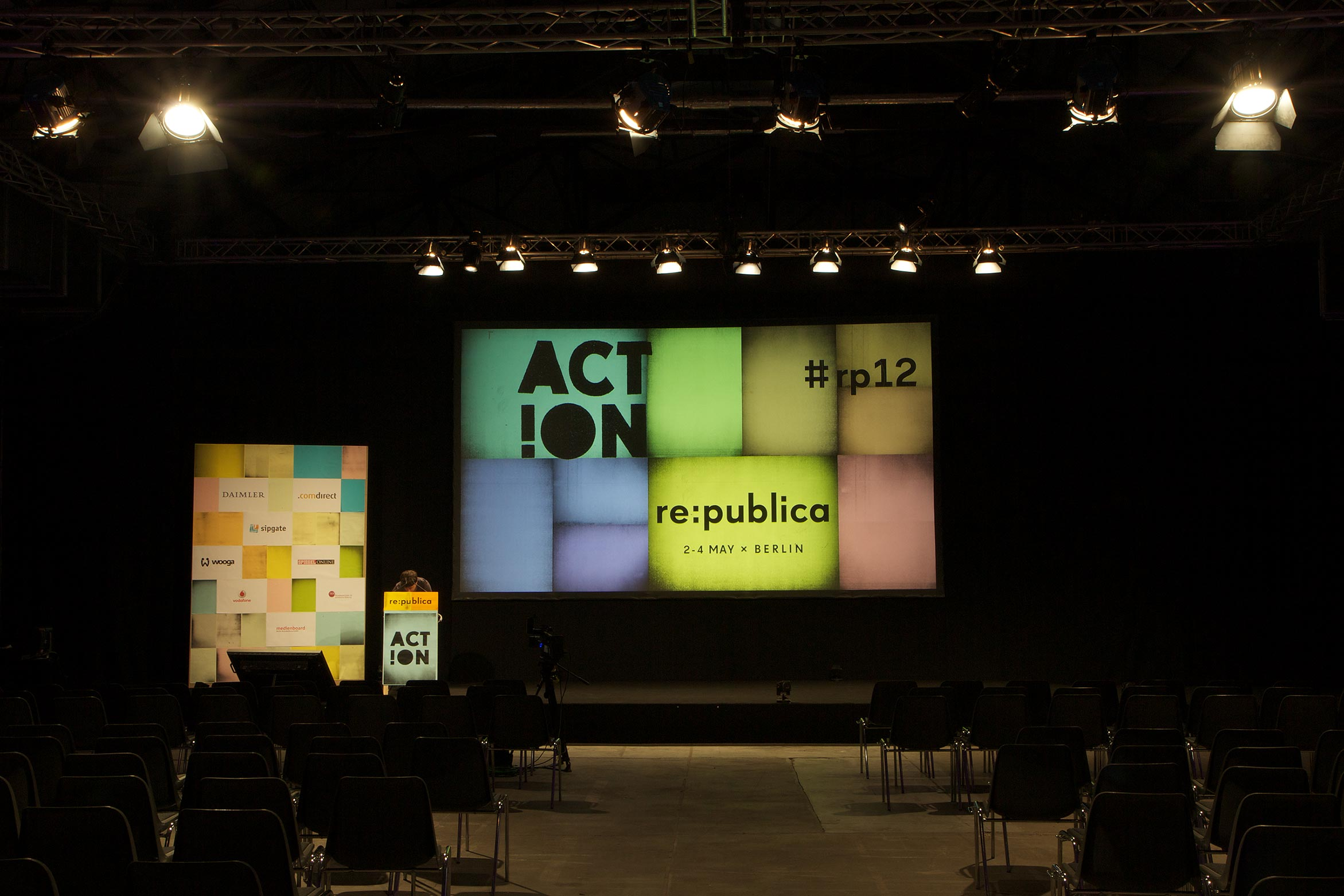 One of the stages at re:publica.